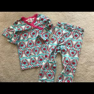 Hanna Andersson girls pajamas size 10 140